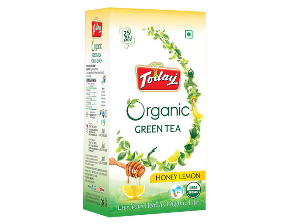 Today Organic Green Tea – Lemon and Honey